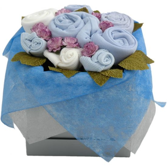 Quality Baby Gifts Uk : Blossom girl baby clothes bouquets bouquet uk grow flowers