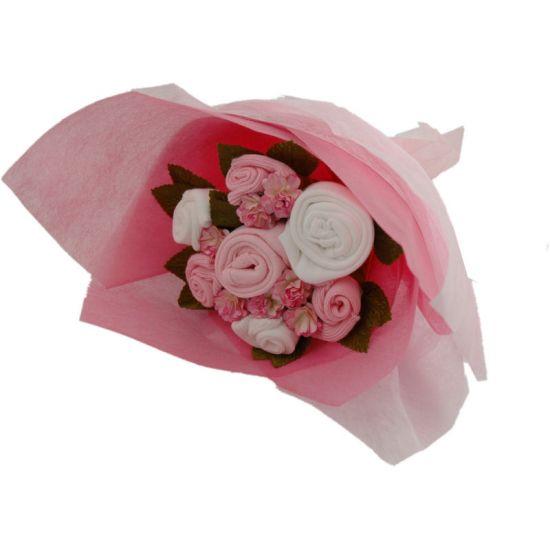 Baby Clothes Flower Bouquet Uk