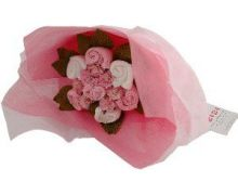 Sweet Pea Posy Girl's Baby Clothes Bouquet