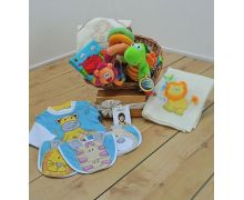 Jungle Friends Baby Gift Basket