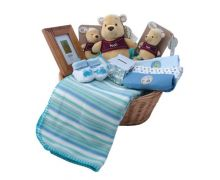 Winnie the Pooh New Baby Gift Basket