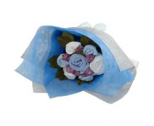 Welcome Baby Boy's Clothes Bouquet